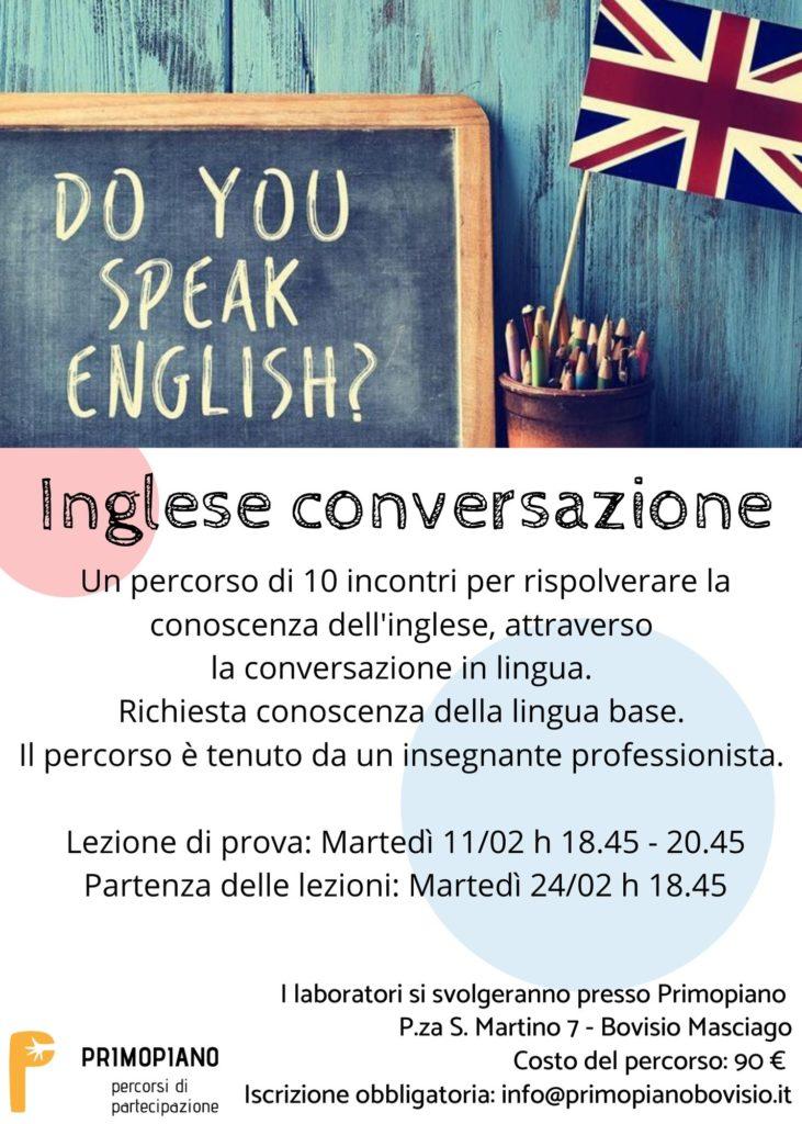 corso di conversazione inglese primopiano english conversation bovisio masciago